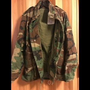 Nato Men's Cold Weather Field Coat Jacket size S